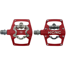 KCNC AM Trap-TI Clipless Pedalen Dual Side, red